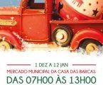 Elvas: Cantar os Reis no Mercado Municipal