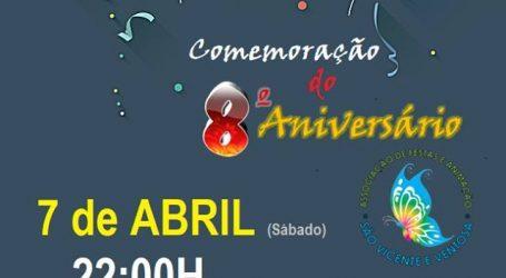 8.º Aniversário da Associação de Festas e Animação de São Vicente e Ventosa
