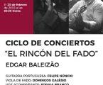 Ciclo de concertos o cantinho do fado