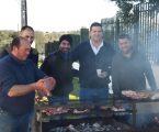 A Sociedade de Recreio de São Brás de Varche organizou a tradicional matança do porco