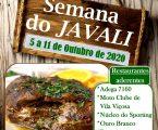 """Semana do Javali, integrado no Festival Gastronómico """"Vila Viçosa à Mesa""""."""