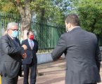 Ministros estiveram em Elvas para sensibilizar alunos a cumprir regras